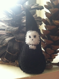 "An ""Ancestor Gnome"" I sewed for Bee - Photo by Grey Catsidhe, 2015"